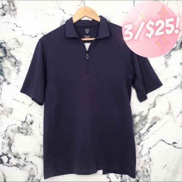 💖3/$25💖Nike FitDry Shirt Mens Size Medium Purple